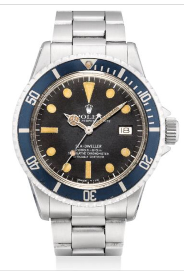 L'origine des patines sur les montres ROLEX de plongée.