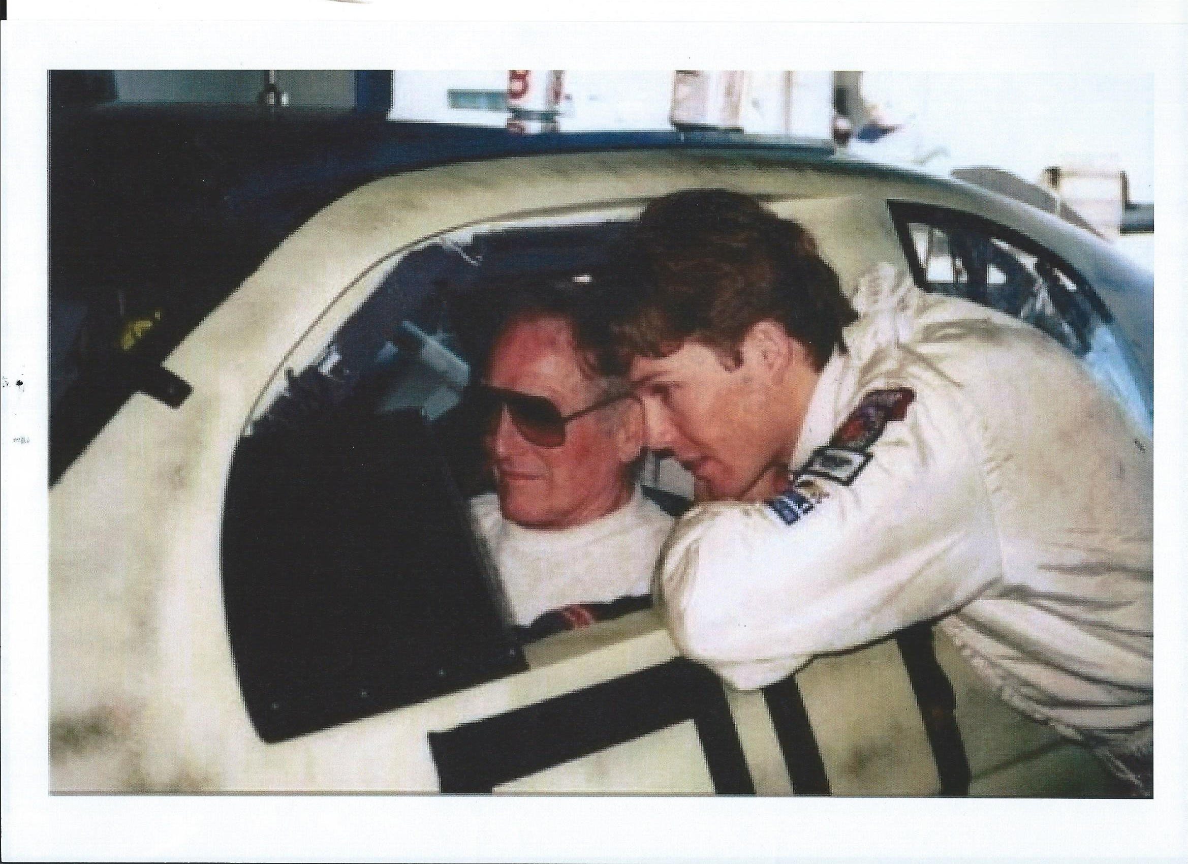 Paul NEWMAN et son cascadeur.